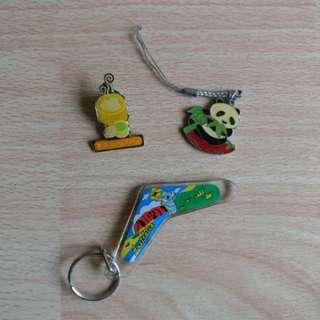 Keychain/pins