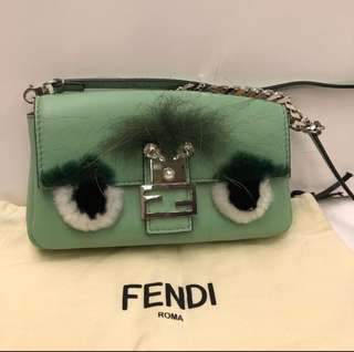 Fendi Monster Small Charm crossbody Bag