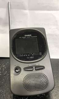 Casio Mini-TV. Tak Fungsi, kena servis.