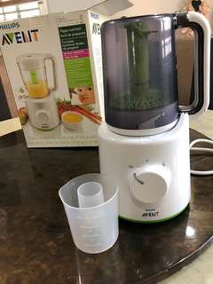 Philips Avent combined Blender and steamer / baby food maker 2 in 1