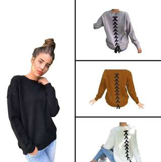 Casual sweater tops