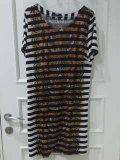 Dress leopart vercace import