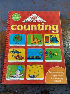 Buku Belajar Berhitung