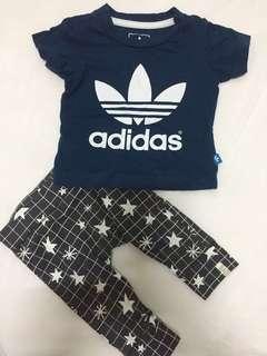 Adidas Tee & Cotton On pant