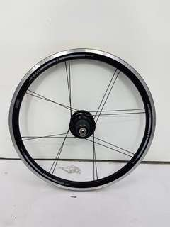 """American Classic 20"""" 406 74/130mm or 100/130mm Wheel Set for Folding Bikes"""