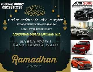 Promo TOYOTA di bulan Ramadhan