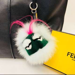 Fendi Fox Fur Monster Charm