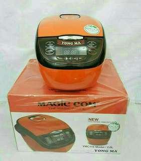 Rice cooker yongma kapasitas 2L