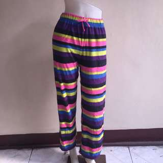 TOTAL GIRL stripes laides pajama. Fits small