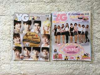 Y.G Magazine (Super Junior/Girls Generation)