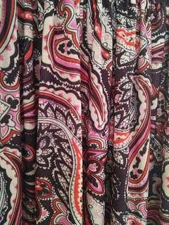 🚚 波西米亞風拼接長海灘洋裝連衣裙 #一百元好物