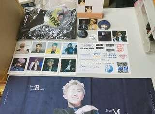 BTS RM韓站macRocosM912 box set