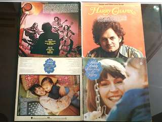 HELEN REDDY ● HARRY CHAPLIN. love song for jeffrey / sniper and other love songs ( buy 1 get 1 free )  vinyl record