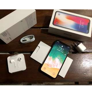 iphone X 64GB With warranty New sealed Openline