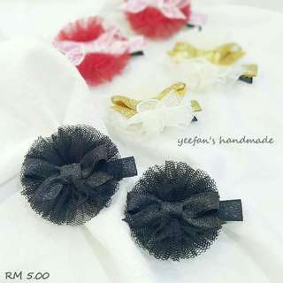 Tulle hairclip