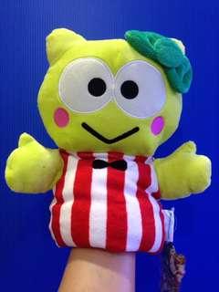 Sanrio kerokerokeroppi soft toy