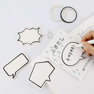 (PO) Speech Bubble Sticky Notes/ Post-its