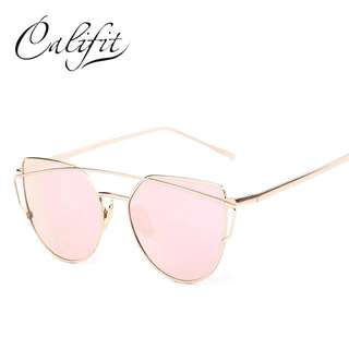 Sunnies Pink Sunglasses