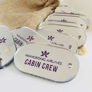 空姐必備💕(香港唯一一家)香港製造 #飛機牌 #行李牌