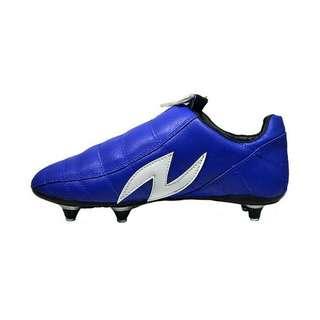 Sepatu Bola pul/stud besi amazaki gigas blue