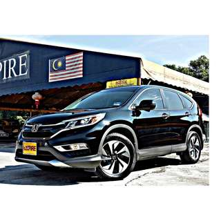 HONDA CR-V 2.4 ( A ) I-VTEC !! 4 WHEEL DRIVE !! LIMITED EDITION !! LATEST NEW MODEL !! PREMIUM HIGH SPECS !! ( BXX 52 ) 1 CAREFUL OWNER !!