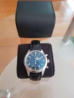 IWC Pilot Chronograph Steel 3717