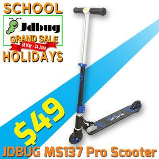 $49 only Foldable Freestyle Kick Scooter - SCHOOL HOLIDAY SPECIAL!