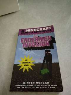 Minecraft Book:THE Enderman Invasion