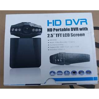 "HD DVR Portable with 2.5"" TFT LCD Screen"