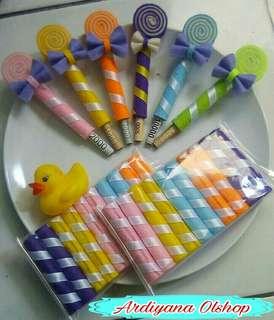 Amplop lebaran bentuk astor dan Lollipop