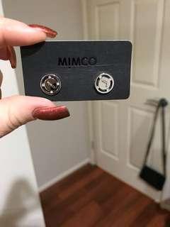 Mimco J earrings