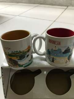Mug starbucks Indonesia mug series