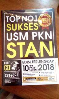 BUKU SUKSES STAN 2018 + CD BEST SELLER NEW
