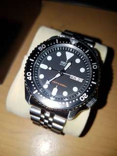 Jam tangan seiko dive automatic 200m no battery