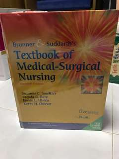 Textbook of Medical-Surgical Nursing 11th edition