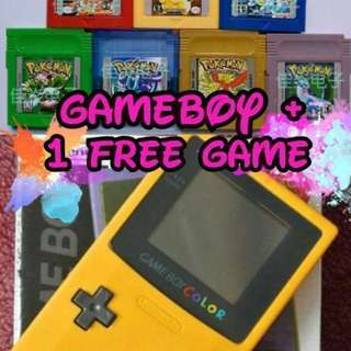 🚚 [IN STOCKS] Nintendo Gameboy Color Bundle