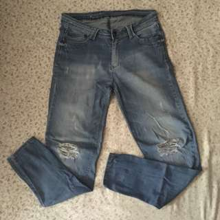 Ripped Jeans Size 34