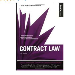 Law Express: Contract Law (Revision Guide) (Law Express: Law Revision)  2nd Edition