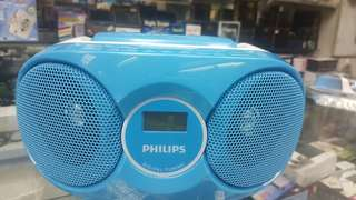 PHILIPS CD PLAYER WITH FM RADIO