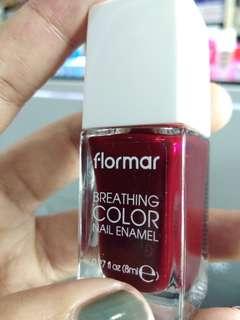 Flormar Breathing Nail Enamel Burgundy