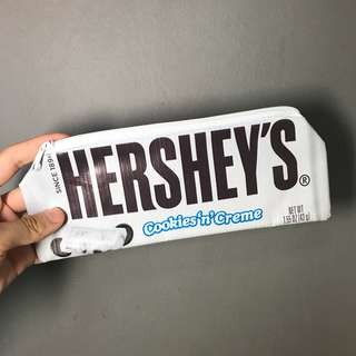 Hershey's Cookies and Cream Pencil Case