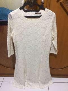 White Lace Dress EPRISE