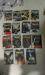 (Reserved) DC Batman New 52 comics