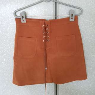 BN Brown Skirt mailed