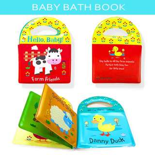 Floating Baby Bath Book