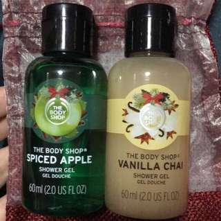 BN The Body Shop Shower Gels