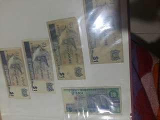 VINTAGE SINGAPORE CURRENCY