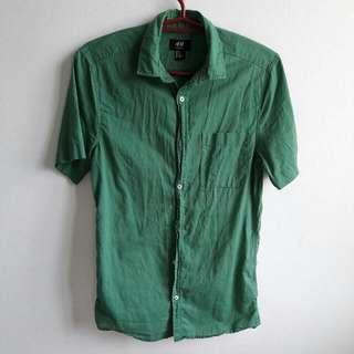 H&M Polo Green