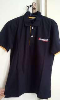 Polo shirt navy blue