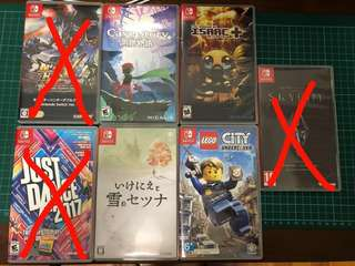 <ANY2 for5 OFF>Nintendo Switch Games for sale